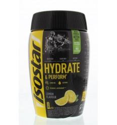 Isostar Hydrate & perform lemon 400 gram | Superfoodstore.nl