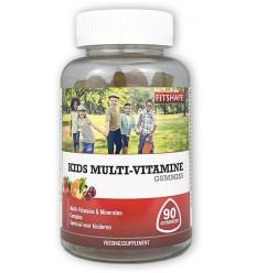 Fitshape Kids multi-vitamine gummies 90 stuks | € 13.20 | Superfoodstore.nl