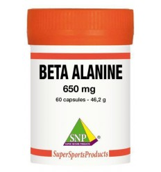 Sportvoeding SNP Beta alanine 650 mg puur 60 capsules kopen