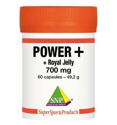 SNP Power plus 700 mg 60 capsules | Superfoodstore.nl