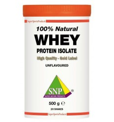 SNP Whey proteine isolate 100% natural 500 gram |