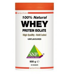 SNP Whey proteine isolate 100% natural 900 gram |