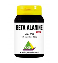 Sport Overig SNP Beta alanine 750 mg puur 120 capsules kopen