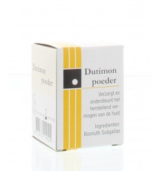 Dutimon Poeder 12 gram | € 4.39 | Superfoodstore.nl