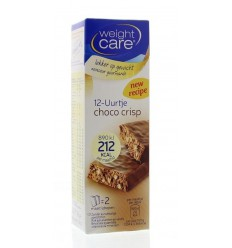 Weight Care Maaltijdreep choco crisp 2 stuks | € 2.82 | Superfoodstore.nl