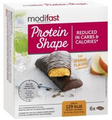 Modifast Control reep pure chocolade/sinaasappel 6x31 gram |
