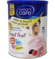 Weight Care Afslankshake bosvruchten 324 gram |