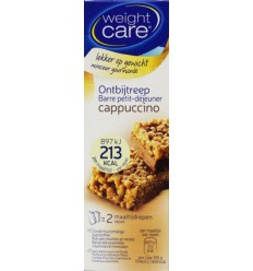 Weight Care Ontbijtreep capuccino 116 gram | Superfoodstore.nl