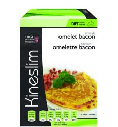 Kineslim Omeletten bacon 4 stuks | Superfoodstore.nl