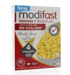 Modifast Intensive soep curry noodles 220 gram | € 12.85 | Superfoodstore.nl