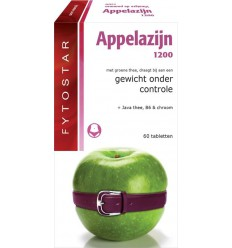 Fytostar Appelazijn 1200 60 tabletten | Superfoodstore.nl