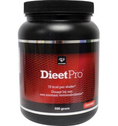 Dieet Pro Dieet pro aardbei 500 gram | Superfoodstore.nl