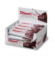 Dieet Pro Snack choco brownie 50 gram 16 stuks |