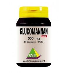Afslanken SNP Glucomannan 500 mg puur 60 capsules kopen