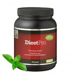 Dieet Pro Dieet pro stevia vanille 400 gram | Superfoodstore.nl