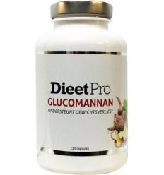 Dieet Pro Dieet Pro glucomannan 120 capsules | Superfoodstore.nl