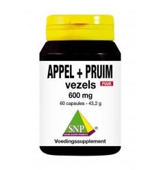 Afslanken SNP Appel pruim vezels 600 mg puur 60 capsules kopen