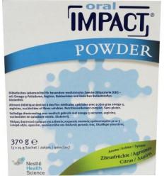 Nestle Oral impact citroen 5 sachets | Superfoodstore.nl