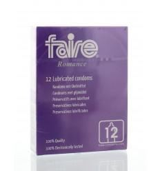 Faire Romance Condooms 12 stuks | Superfoodstore.nl