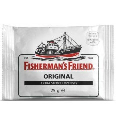 Fishermansfriend Original extra sterk 25 gram | € 1.17 | Superfoodstore.nl