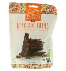 Belvas Thins dark 85% met kokosbloesemsuiker 120 gram |
