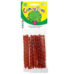 Candy Tree Aardbeikabels 75 gram | € 1.91 | Superfoodstore.nl