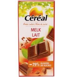 Cereal Tablet melk maltitol glutenvrij 80 gram |