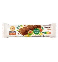 Cereal Chocolade reep praline stevia 42 gram | Superfoodstore.nl