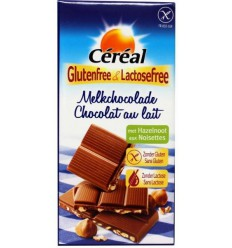 Cereal Melkchocolade hazelnoot glutenvrij 100 gram |