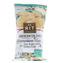 De Rit Kikkererwtenchips sour cream union 75 gram |