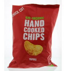 Trafo Chips handcooked paprika 125 gram | Superfoodstore.nl