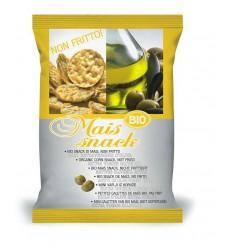 Bio Alimenti Mais snack olijf 50 gram | Superfoodstore.nl