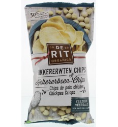 De Rit Kikkererwtenchips zeezout 75 gram | Superfoodstore.nl