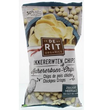 Chips De Rit Kikkererwten zeezout 75 gram kopen
