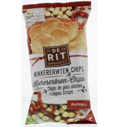 De Rit Kikkererwtenchips paprika 75 gram | € 2.31 | Superfoodstore.nl