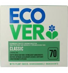 Ecover Vaatwasmachine tabletten 70 tabletten | € 15.15 | Superfoodstore.nl
