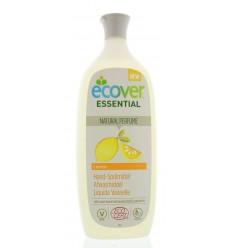 Ecover Afwasmiddel citroen 1 liter | € 4.54 | Superfoodstore.nl