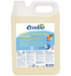 Ecodoo Wasmiddel geconcentreerd perzik 5 liter | € 23.27 | Superfoodstore.nl