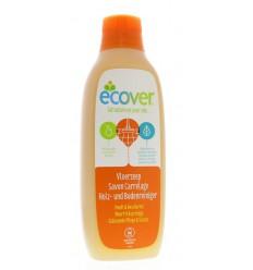 Ecover Vloerzeep poreuze vloer met lijnolie 1 liter | € 4.51 | Superfoodstore.nl
