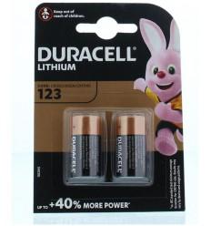 Duracell Batterij 123/2 2 stuks | Superfoodstore.nl