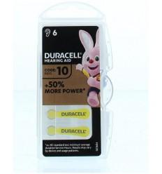 Duracell Hearing aid nummer 10 6 stuks | Superfoodstore.nl