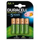 Duracell Rechargeable AA 4 stuks