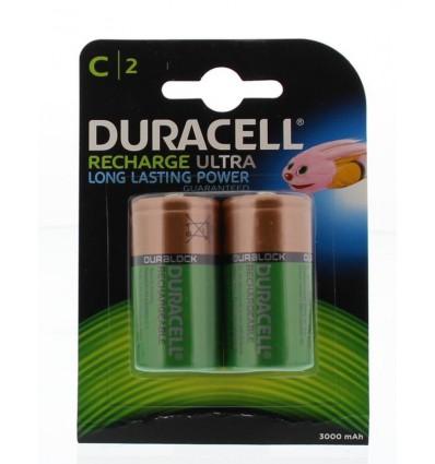 Batterijen Duracell Rechargeable C HR14 2 stuks kopen