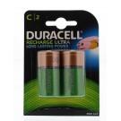 Duracell Rechargeable C HR14 2 stuks