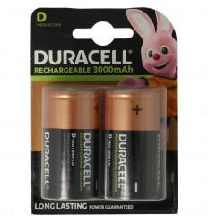 Duracell Rechargeable D HR20 2 stuks | Superfoodstore.nl