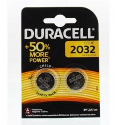 Duracell Batterij dl/ 2032 cl/ 2032 3v litium 2 stuks |