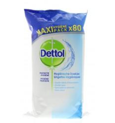 Dettol Hygienische schoonmaakdoekjes 80 stuks |