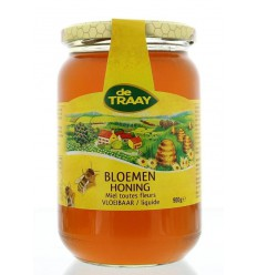 De Traay Bloemenhoning vloeibaar 900 gram | € 8.77 | Superfoodstore.nl