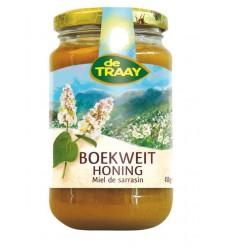 De Traay Boekweit creme honing 450 gram | Superfoodstore.nl