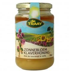 Honingen De Traay Zonnebloem-klaverhoning 450 gram kopen